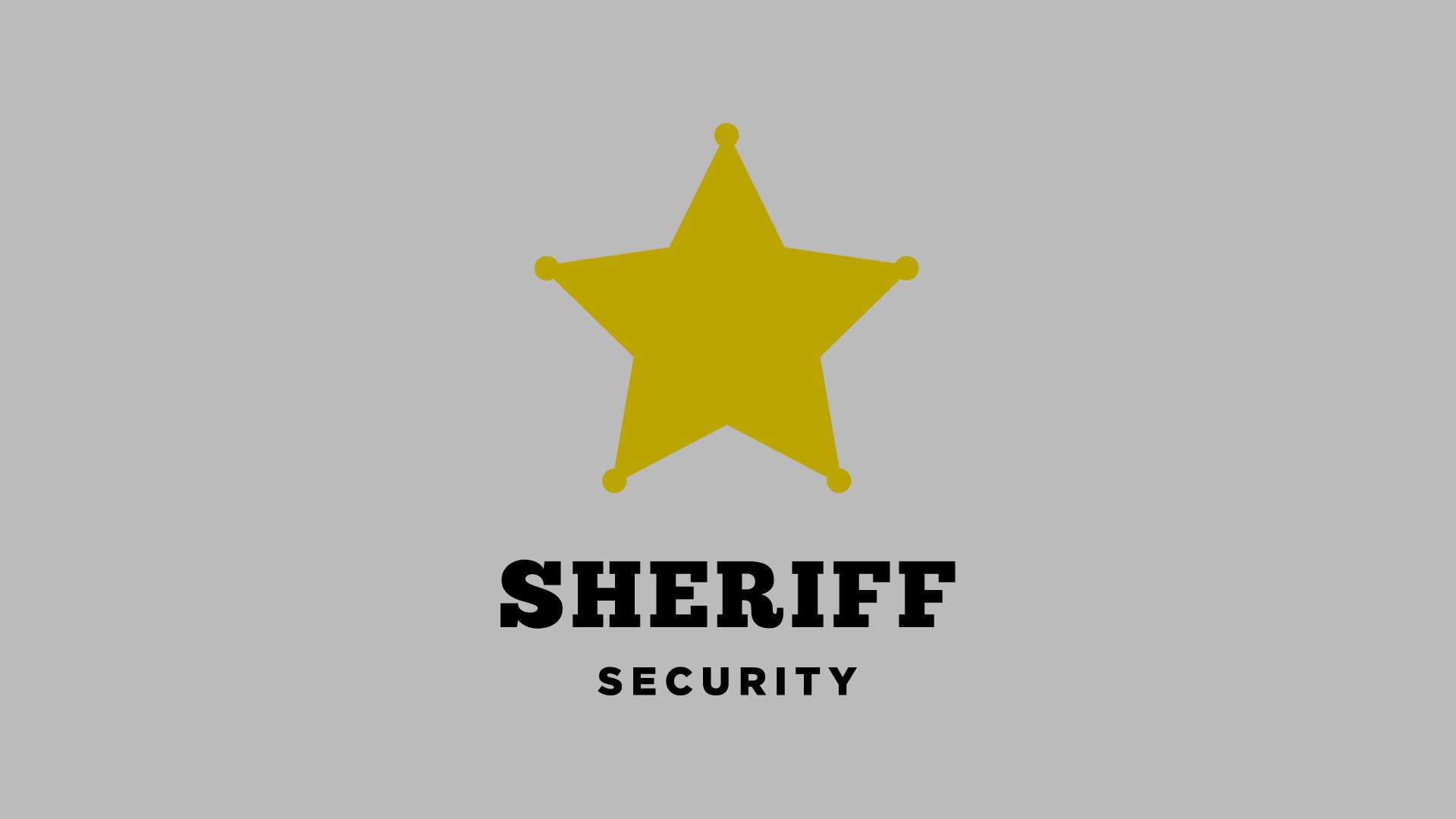 Sheriff Brand Identity